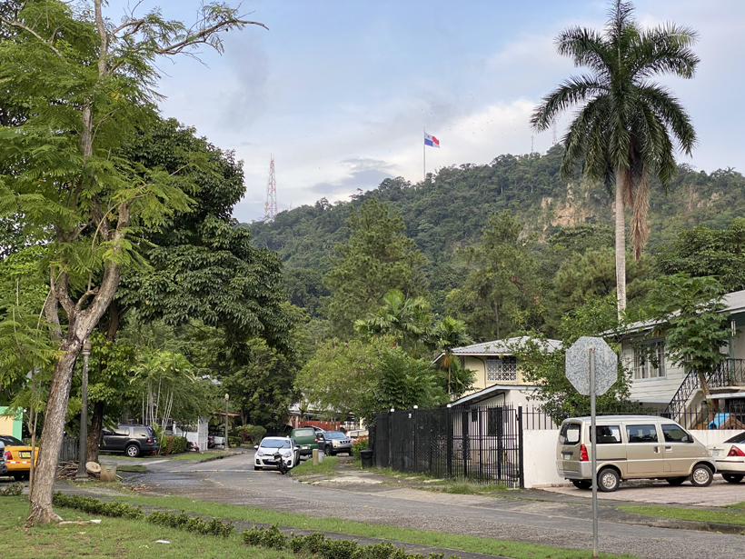logeren bij ancon hill in panama city