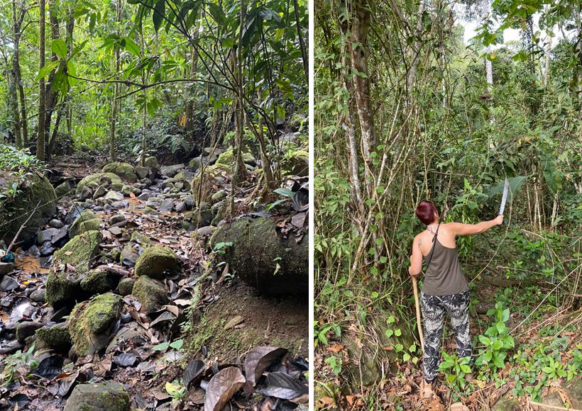 wandelen in la Trinidad