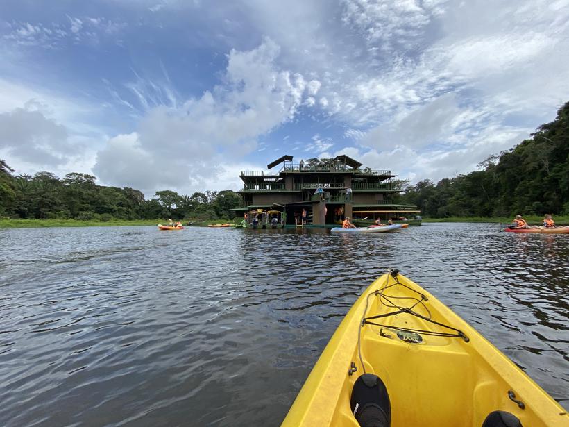 kajakken vanuit Jungle land Panama