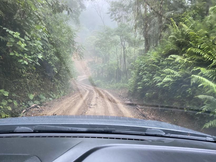modder zandweg La Trinidad