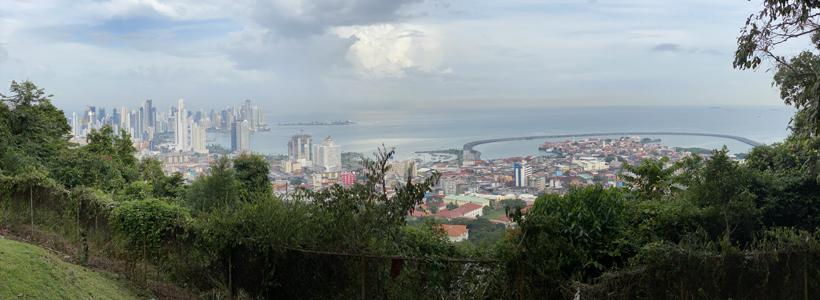 panorama panama city vanop Ancon Hill