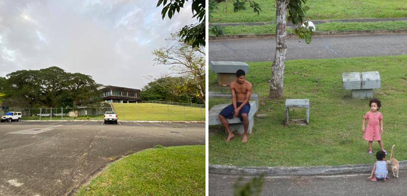 groen Gamboa dorp