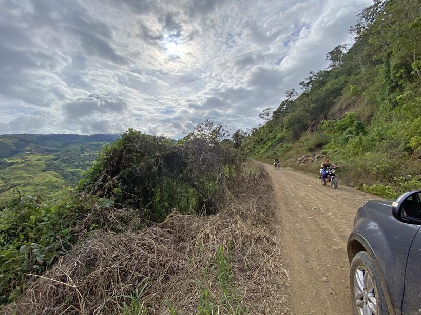 van Pejibaye naar La Trinidad