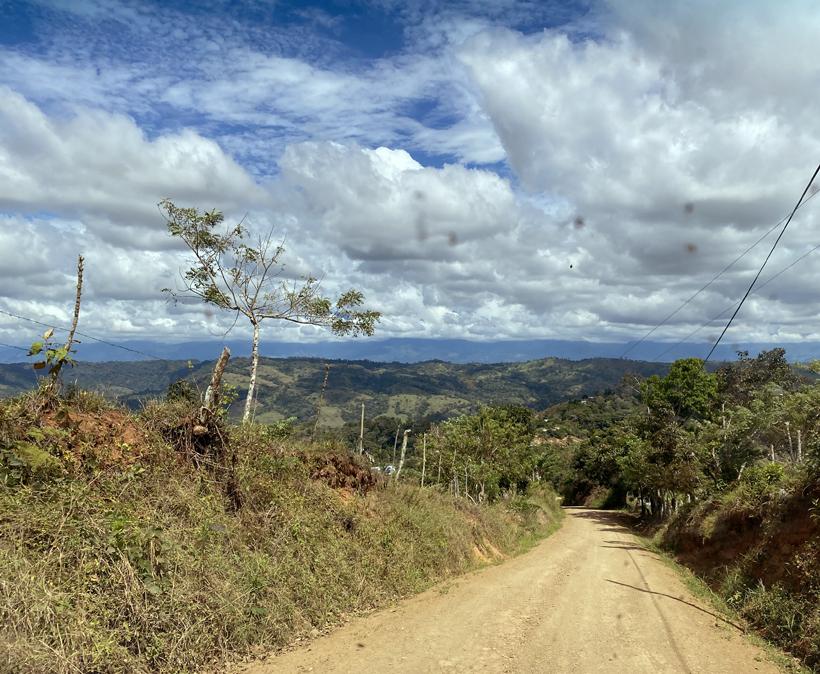 van la Trinidad naar Pejibaye