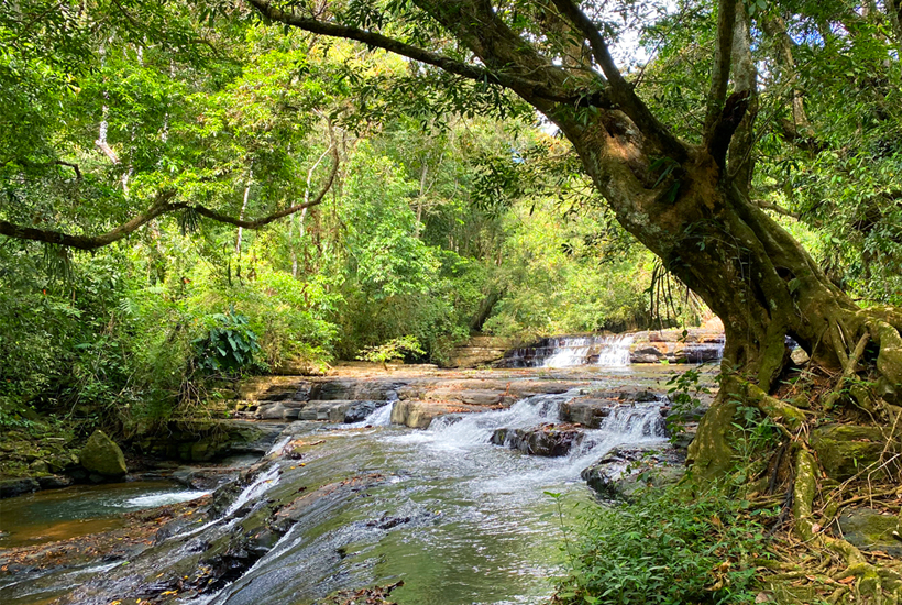 watervallen in la trinidad