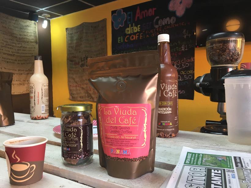 geisha koffie in boquete
