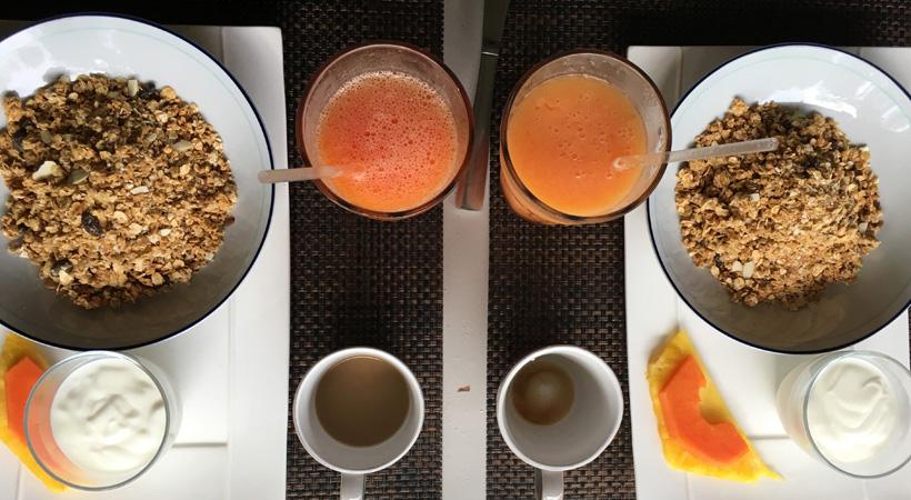 gezond ontbijt island plantation