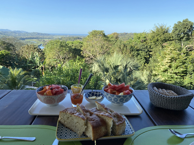 ontbijt in capulin tarcoles