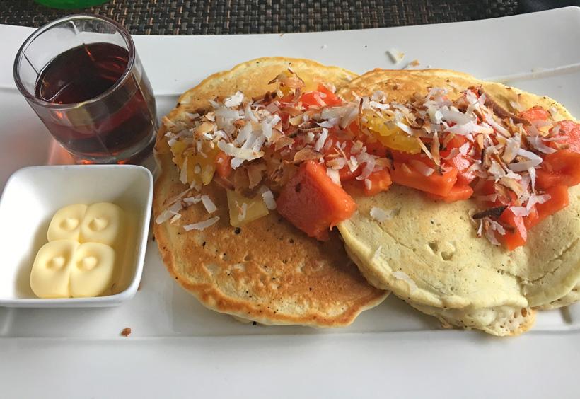 pannenkoeken ontbijt island plantation bocas