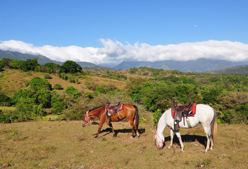 paardrijden boquete in caldera