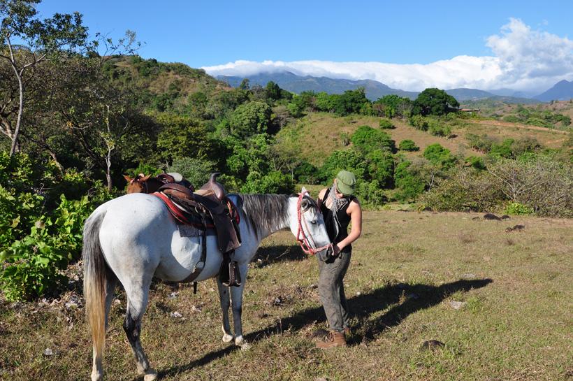 paardrijden caldera bij boquete