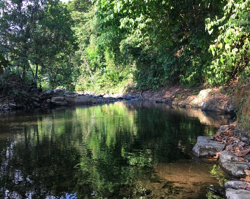 Rivier in Tres Rios