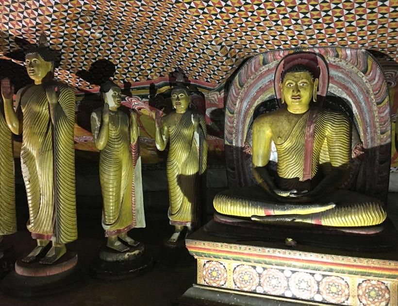 Rock cave tempel in Dambulla