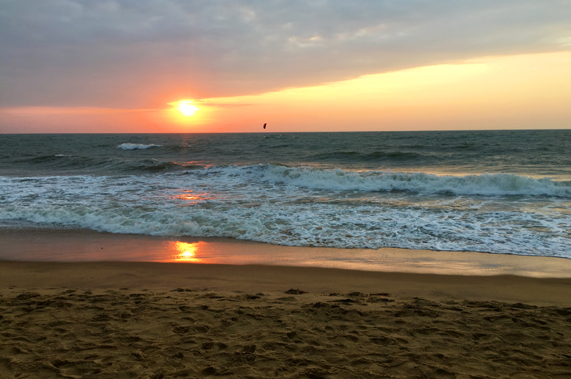 zonsondergang Negombo