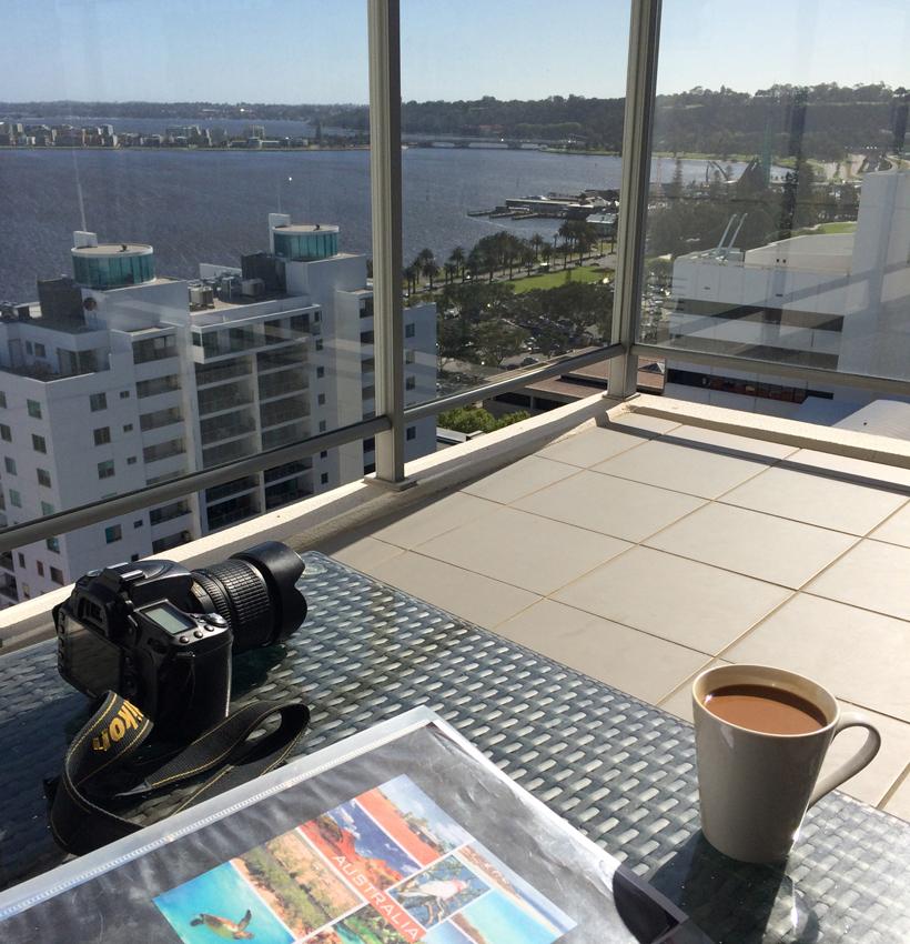 appartementje in Perth