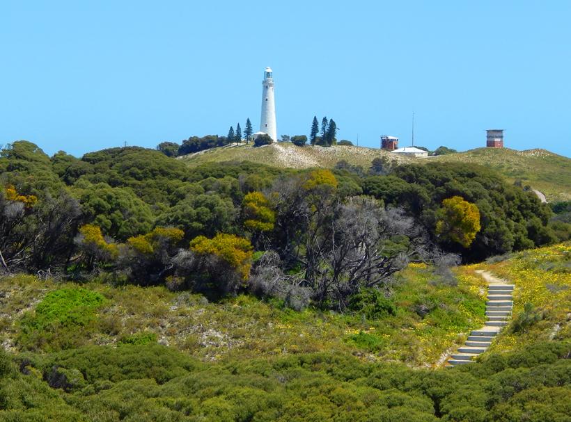Battery Hill op Rottnest Island