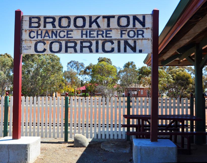 Brookton station in western australia