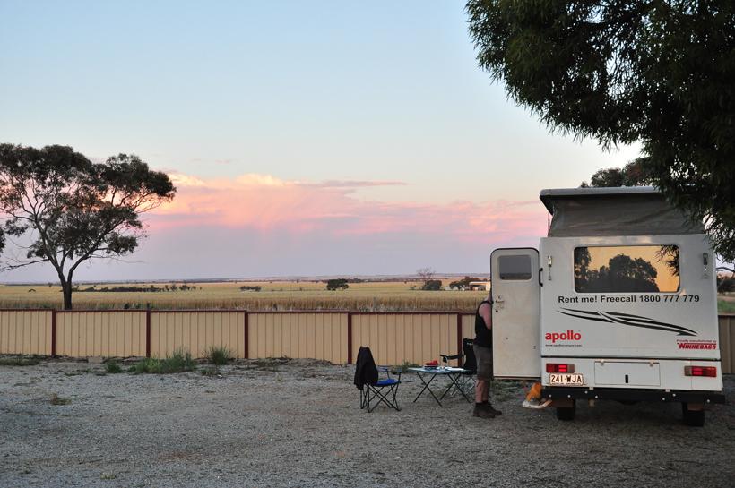 camping in Ballidu in western australia