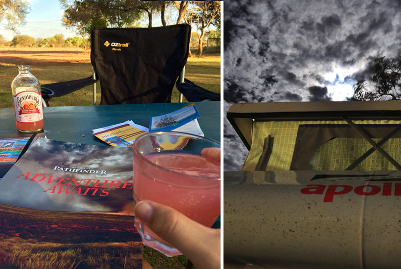 camping-karalundi in golden outback
