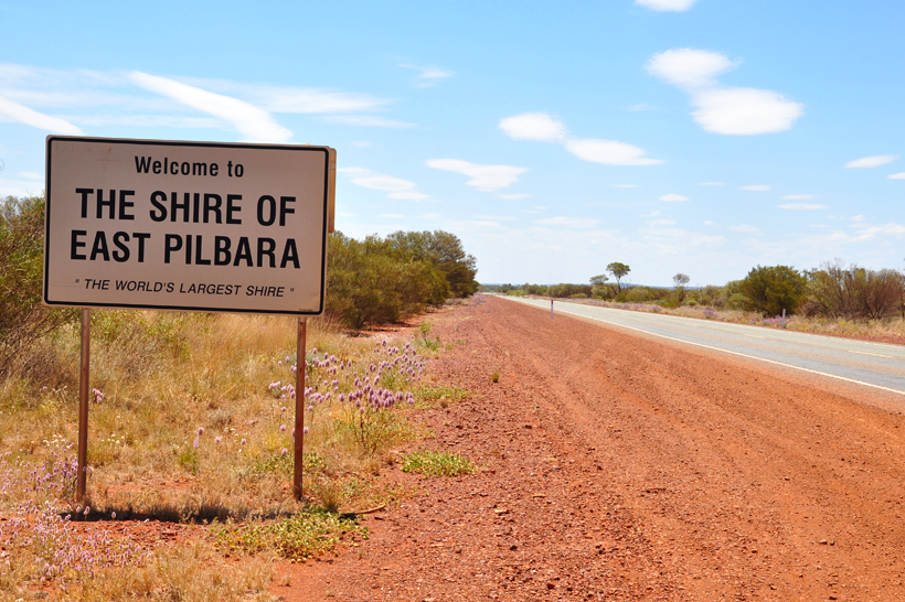 graafschap East Pilbara in western australia