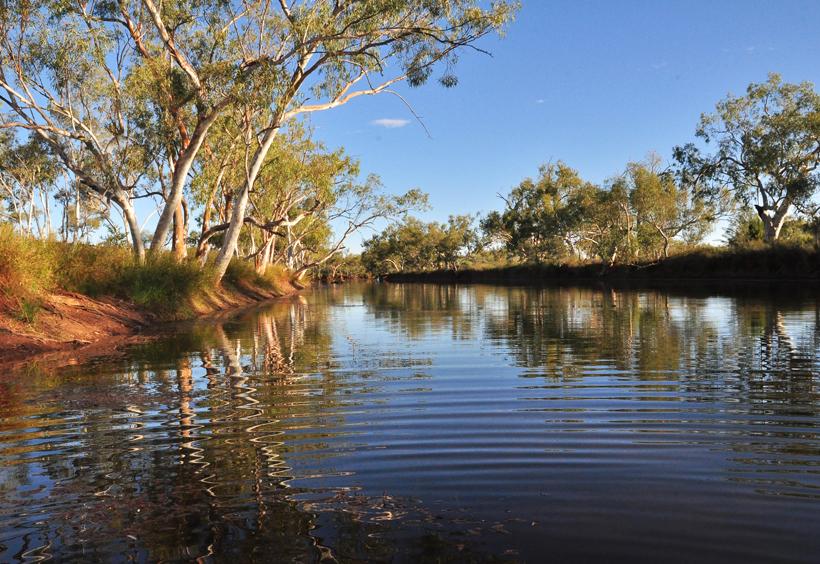 rivier emu creek