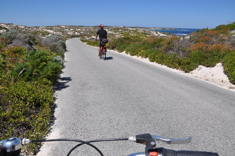 fietsen op Rottnest island