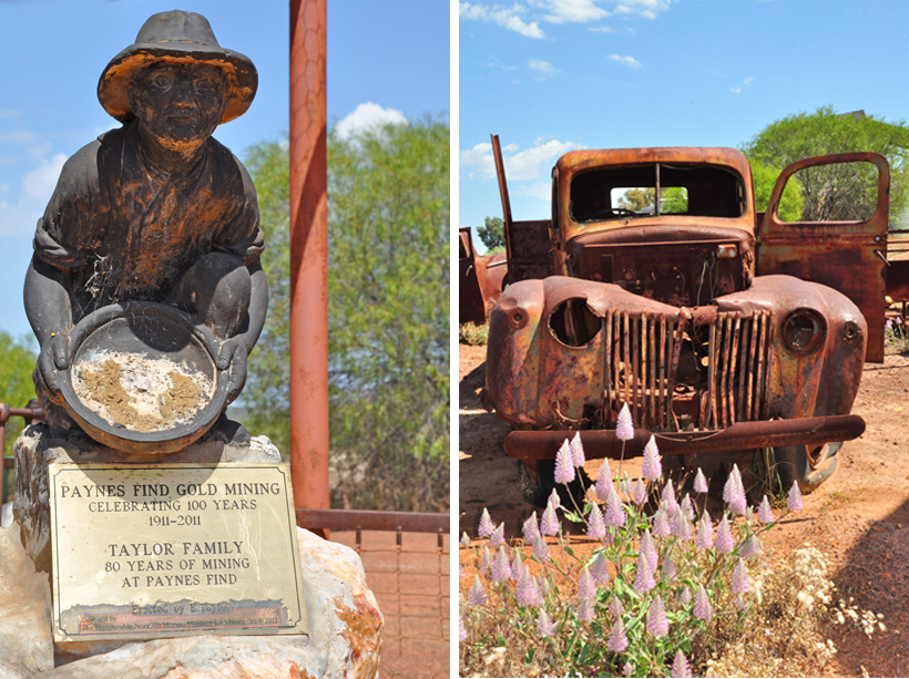 gold rush in golden outback