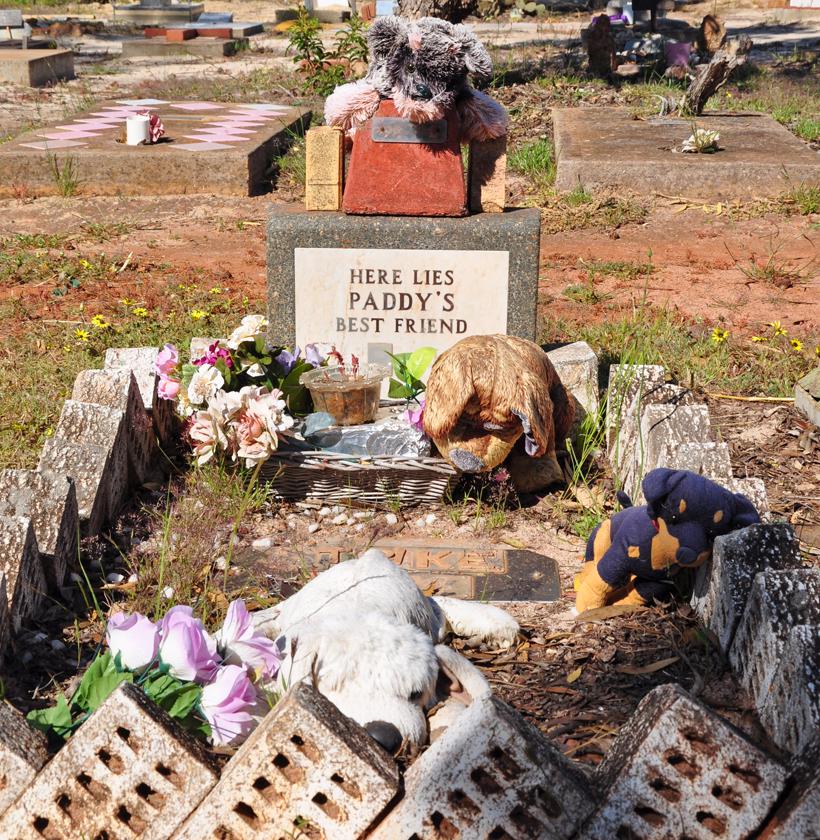 hondenkerkhof in western australia
