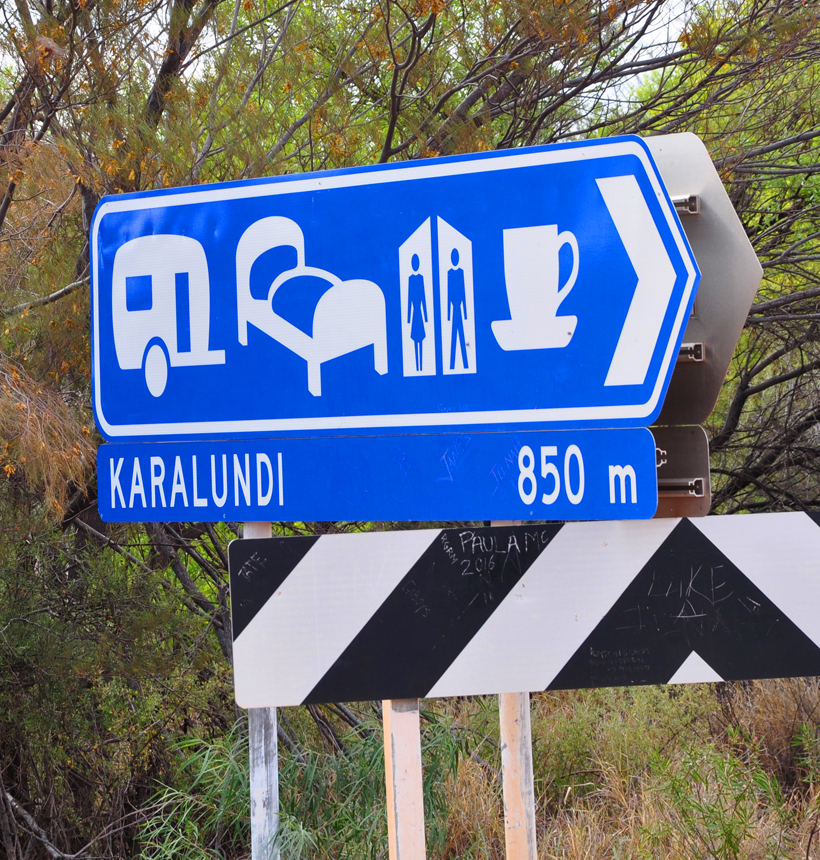 Karalundi camping in golden outback