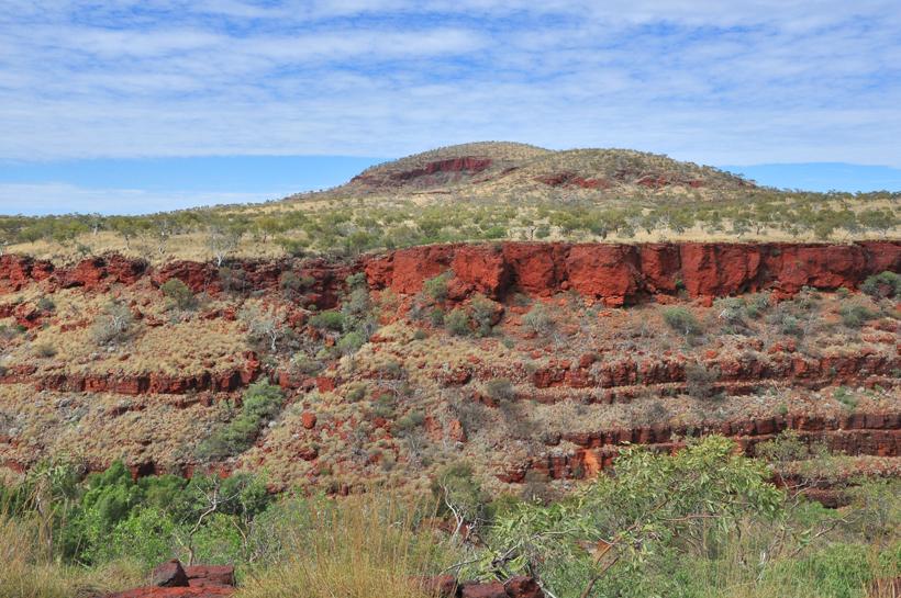 canyon in karijini nationaal park