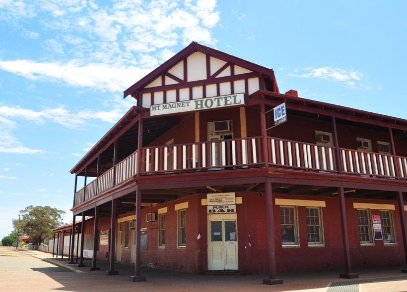hotel in mount magnet western australia