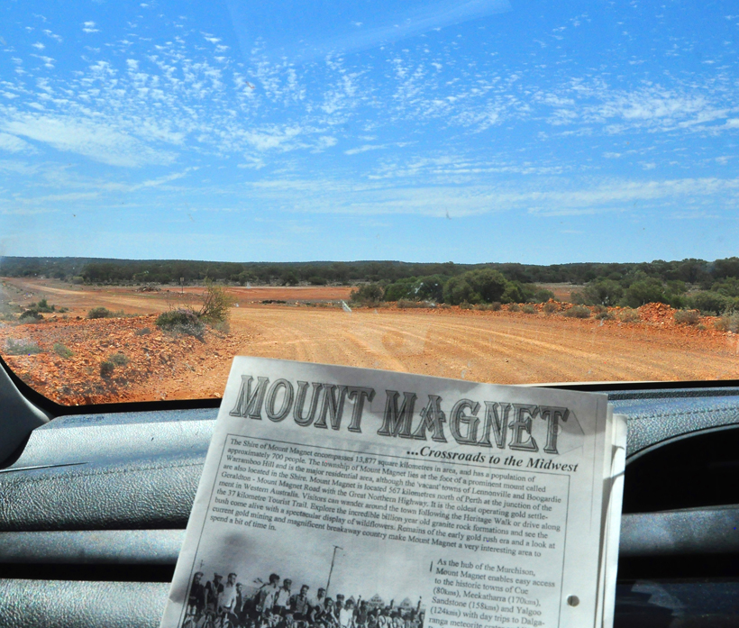 mijnsite route mount magnet in golden outback