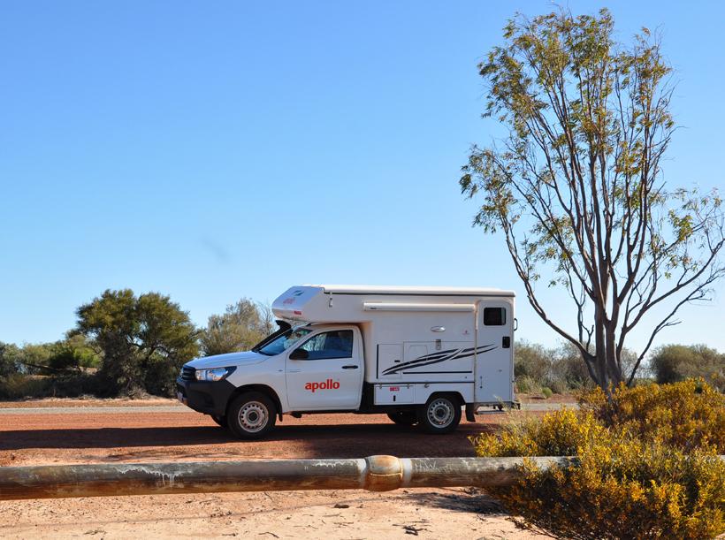 roadtrip van perth naar wave rock in western australia