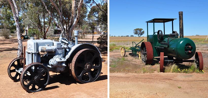 oude landbouwvoertuigen in western australia