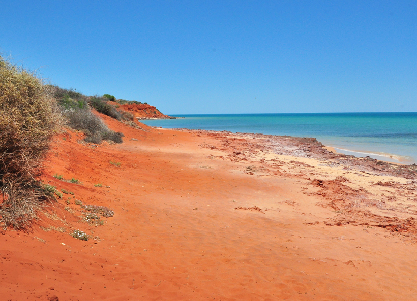 outback meets ocean in francois peron nationaal park
