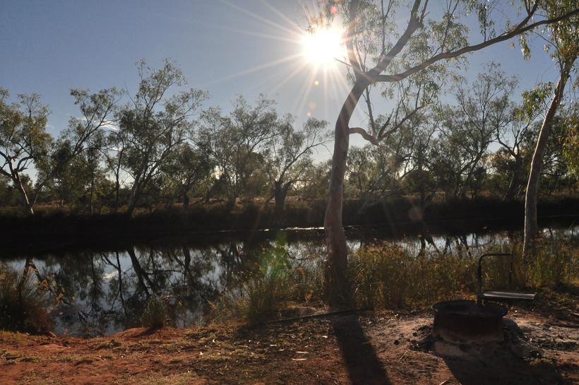 sunrise emu billabong