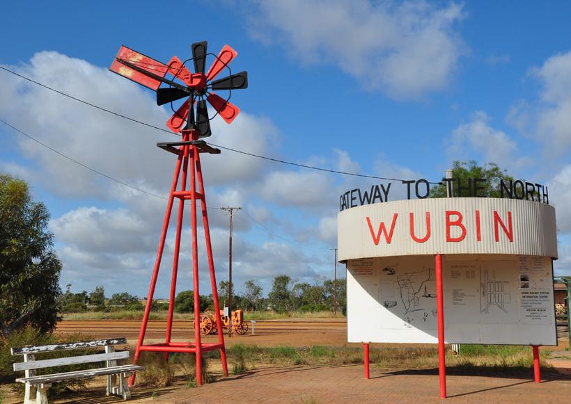 wubin in de golden outback