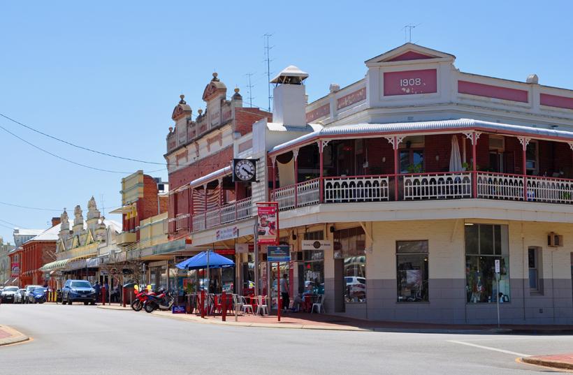 hoofdstraat York in western australia