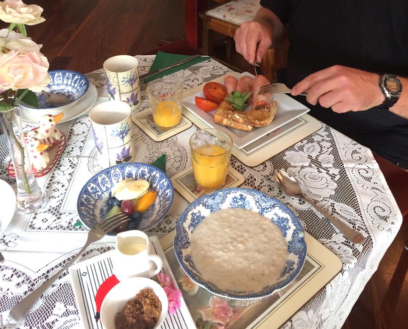 ontbijt in b&b perth hills