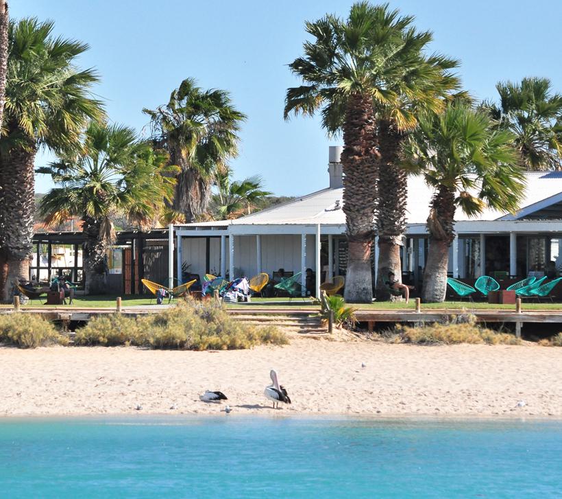 Monkey Mia resort in Shark Bay
