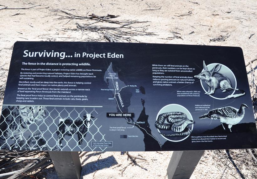 project Eden in Shark Bay