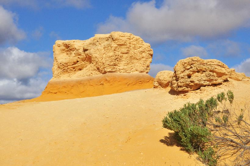 pinnacles westkust van Australië