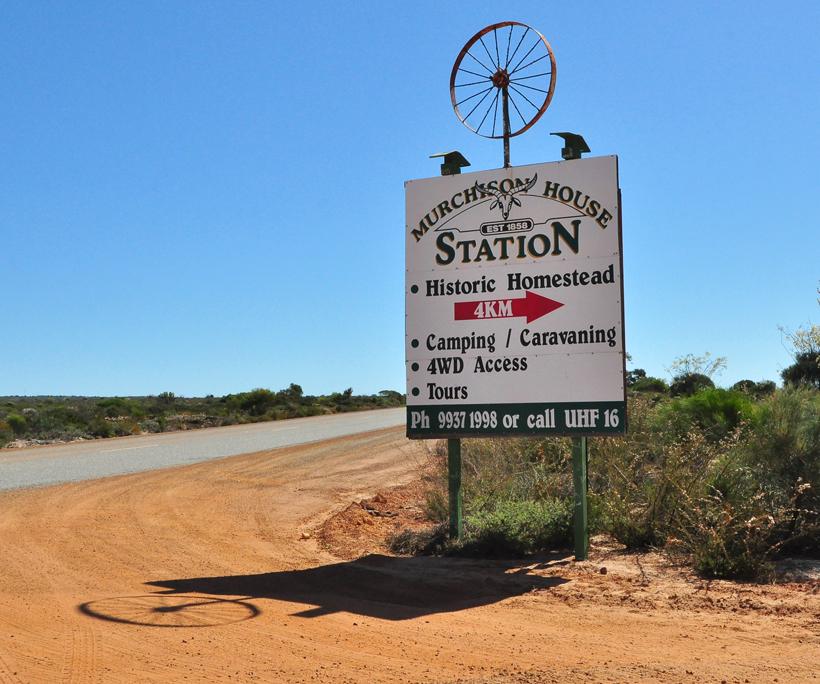 Station stay Murchison bij Kalbarri