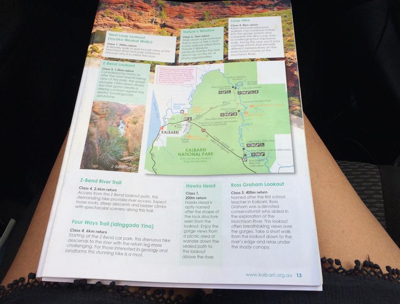 wandelingen in Kalbarri Nationaal Park