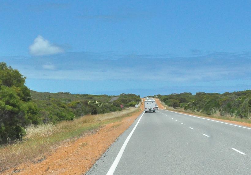 naar lesueur nationaal park westkust van Australië