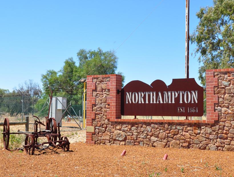 historisch stadje westkust van Australië