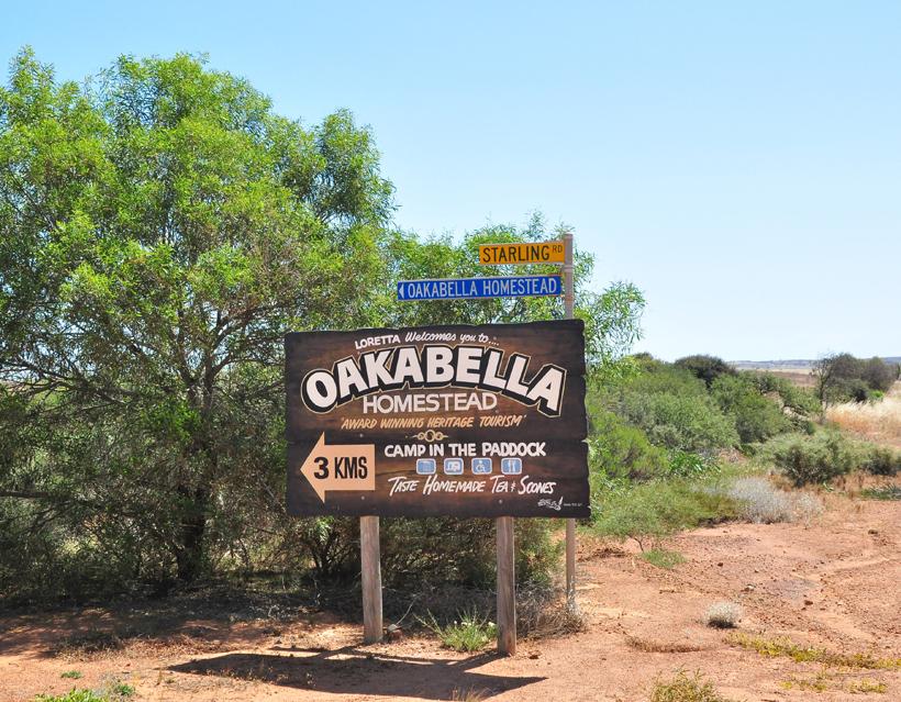 naar Oakabella Homestead
