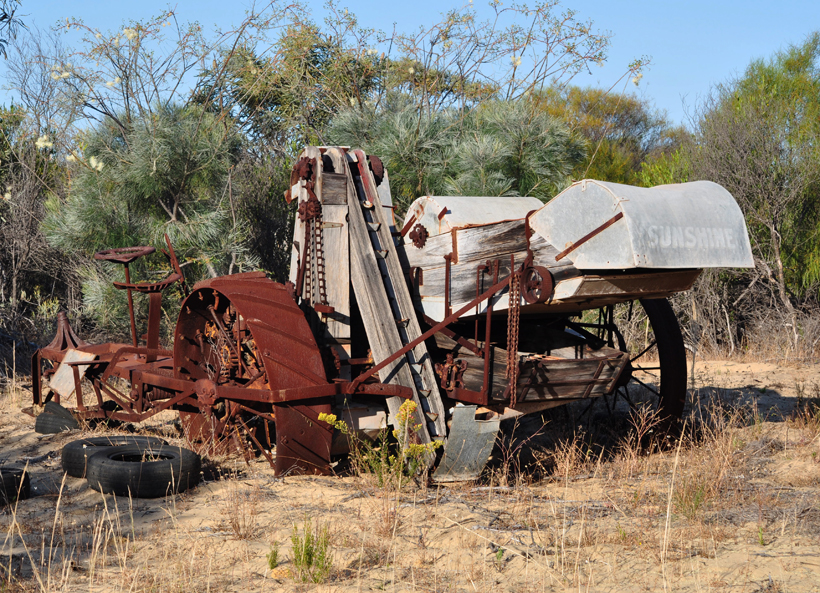 oude voertuigen op Murchison House