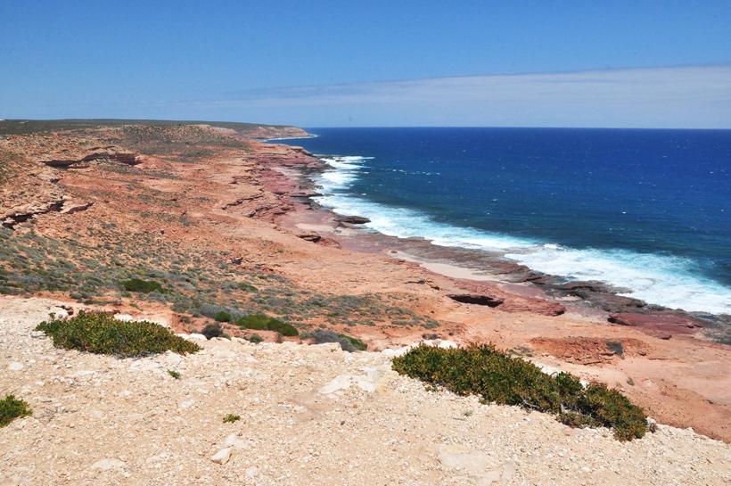 red bluff kliffen westkust van Australië