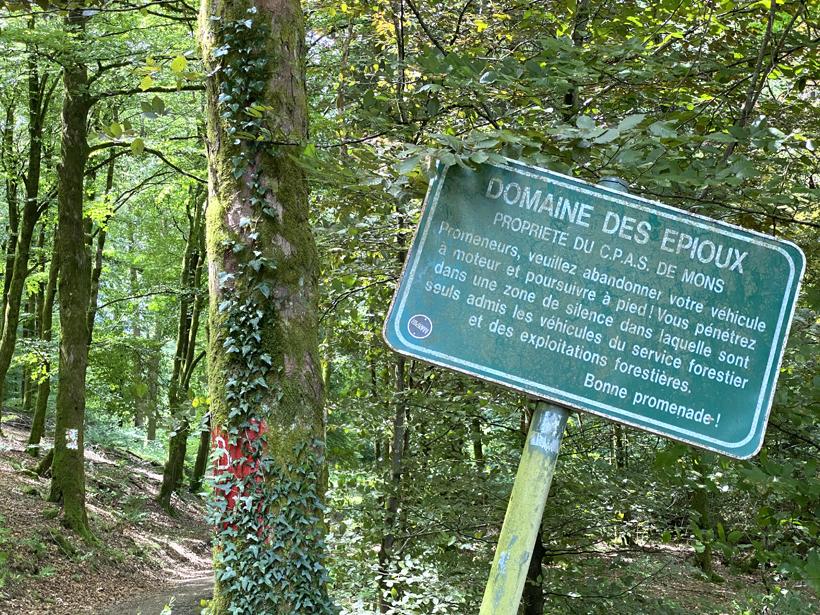 wandelen in Domaine des Epioux